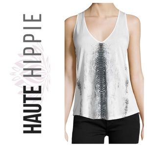 🦋Haute Hippie Graphic Layering Tank NWOT🦋